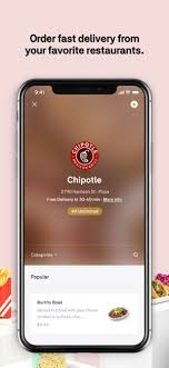 Food Budget App Postmates Food Delivery On The App Store