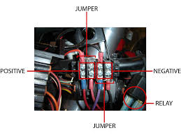 motorcycle power relay and distribution block canyon chasers Fuse Box Car Meaning distribution block jumper locations fuse box car meaning