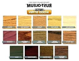 Furniture Stain Colors Chart Oil Wood Stain Colors Netap Co