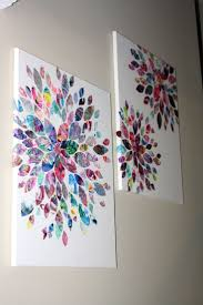 Artwork made from my 2 year old daughter's paintings! Kids ArtworkArtwork  IdeasToddler ...