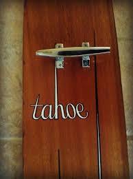 Vintage Ski Coat Rack Custom Vintage Water Ski Coat Rack Tahoe Cleats Boat Lake Beach Wall Decor