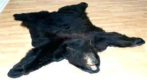 photo 4 of beautiful faux bear skin rugs 5 rug fake pattern for nursery real bearskin