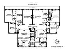 Perfect The Beresford Apartments At 211 Central Park West Floor Plans For 6 Bedroom  Apartment With Terrace