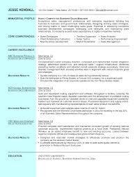 Sample Sales Resume Accounts Manager Format Manag Sevte