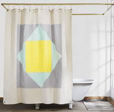 outdoor shower curtain ring new statement shower curtains from quiet town plus glamorous hooks