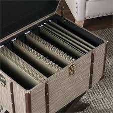 trunk file cabinet southern enterprises linen in dark beige steamer devane