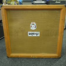 1x12 Guitar Cabinet Empty Orange Second Hand Cabinets Rich Tone Music