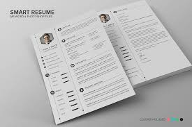 Smart Resume Best Smart Resume CV Set Resume Templates Creative Market