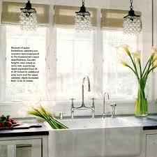 sink lighting. Farmhouse-kitchen-over-sink-lighting-fixtures Sink Lighting