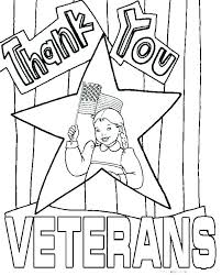 Veterans Day Coloring Pages Printable Page Worksheets Elementary