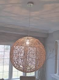 light bonnie yarn pendant small white mercator ball chandelier pertaining to yarn ball chandelier