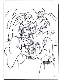 Lazarus Bijbel Kleurplaten Nieuwe Testament