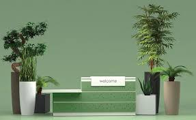 Image Artificial Plants Merlin Industrial Decorative Office Plants