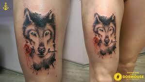 Tetování Wolf Tetování Tattoo