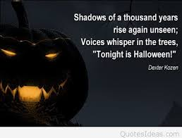 shadows of halloween quote with picture