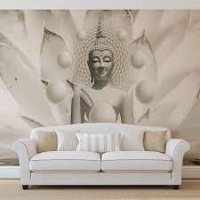 Buddha Zen Spheres Flower 3d Fotobehang Behang Bestel Nu Op