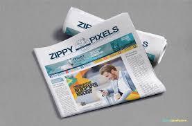 Newspaper Psd Template Download Newspaper Mockups Free Psd Download Zippypixels
