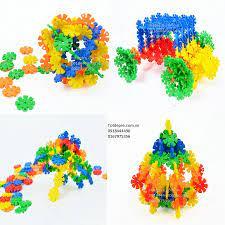 Lắp ghép sáng tạo hình khối - mẫu bông hoa tuyết - HH1151 - Tốt Đẹp Rẻ -  Shopping