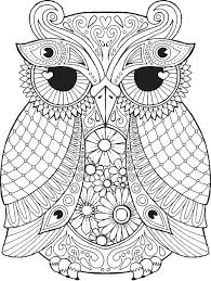 Free Owl Coloring Pages Fresh Free Owl Coloring Pages Free Owl