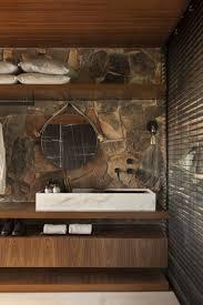 Sichtschutz Innen Jalousien Fenster Badezimmer Naturstein Holz