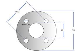 Flange Od Id Pcd Chart How To Measure A Gasket Par Group
