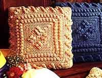Crochet Pillow Patterns Impressive Over 48 Free Crocheted Pillow Patterns At AllCraftsnet Free