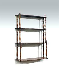 antique wall shelves shelf turned wood mahogany mirror back with antique wall shelves