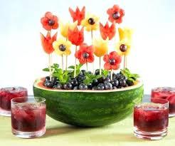 How To Decorate Salad Tray Fruit Salad Decoration Ideas Wedding Decor 91