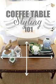 how to style a coffee table like a professional 4