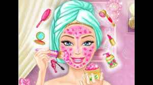 barbie real makeover barbie spa treatment makeover kids play palace