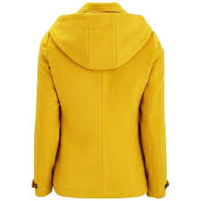 mustard pea coat scotch wool yellow image 2 mustard pea coat forever 21 mustard yellow peacoat