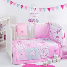 red kite 4 piece pretty kitty cosi cot cot bed bedding set