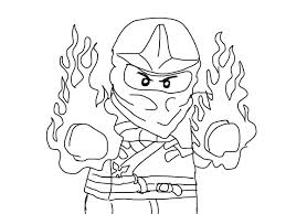 Lego Ninjago Coloring Pages To Print Coloring Pages Free Jay Ninja