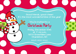 christmas party invitations be jolly and unique your christmas party invitations for kids