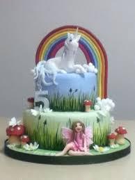 Unicorn And Fairy Cake Birthday Party Leap Fairy Birthday Cake