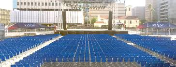 Downtown Las Vegas Events Center Seating Solutions