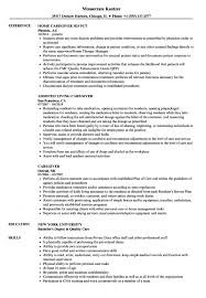 Resume Examples For Caregivers Caregiver Resume Samples Velvet Jobs S Sevte 53
