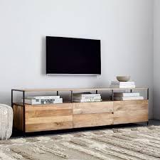 industrial media furniture. Industrial Storage Media Console (203cm) Furniture S