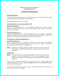 Mechanic Resume Impressive Technician Resume Template This Is Auto Mechanic Sample Templates