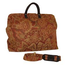 carpet bag. just shipped out one of my favorites - rose floral chenille tapestry carpet bag. turn it will be used as a prop in season 2 frontier discovery bag