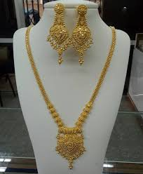 Latest Gold Sets Designs In India Image May Contain Jewelry Gold Jewelry Simple Gold