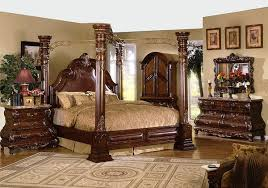 Images Of Modern Furniture Adorable Phenomenal Canopy Bed Set Mc Ferran Furniture R 48 Pc Bedroom Full