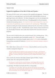 justify the title pride and prejudice essay waste governor cf justify the title pride and prejudice essay