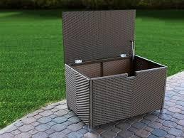 stylish patio storage box best outdoor storage ideas residence decor pictures