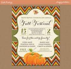 17 Best Fall Festival And Autumn Harvest Flyers Images Autumn