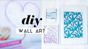 diy wall art room decor pieces gallery wall ideas 2017