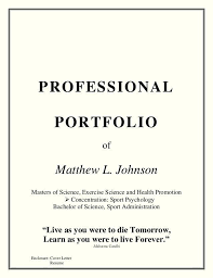 Professional Title Page Free Professional Cover Page Template With