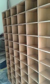 wooden racks pigeon hole