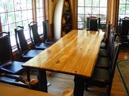 hickory wood dining set. custom made rustic hickory table wood dining set e