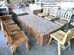 rustic outdoor furniture. Log Outdoor Furniture Rustic Ideas .